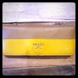 Beautiful Prada wallet